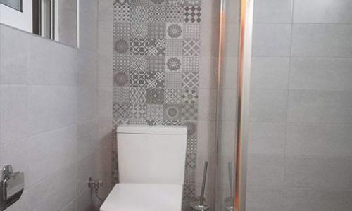 Ανακαίνιση μπάνιου στο Κουκακι