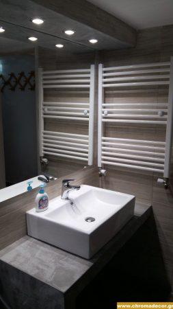 καθρέφτης μπάνιου