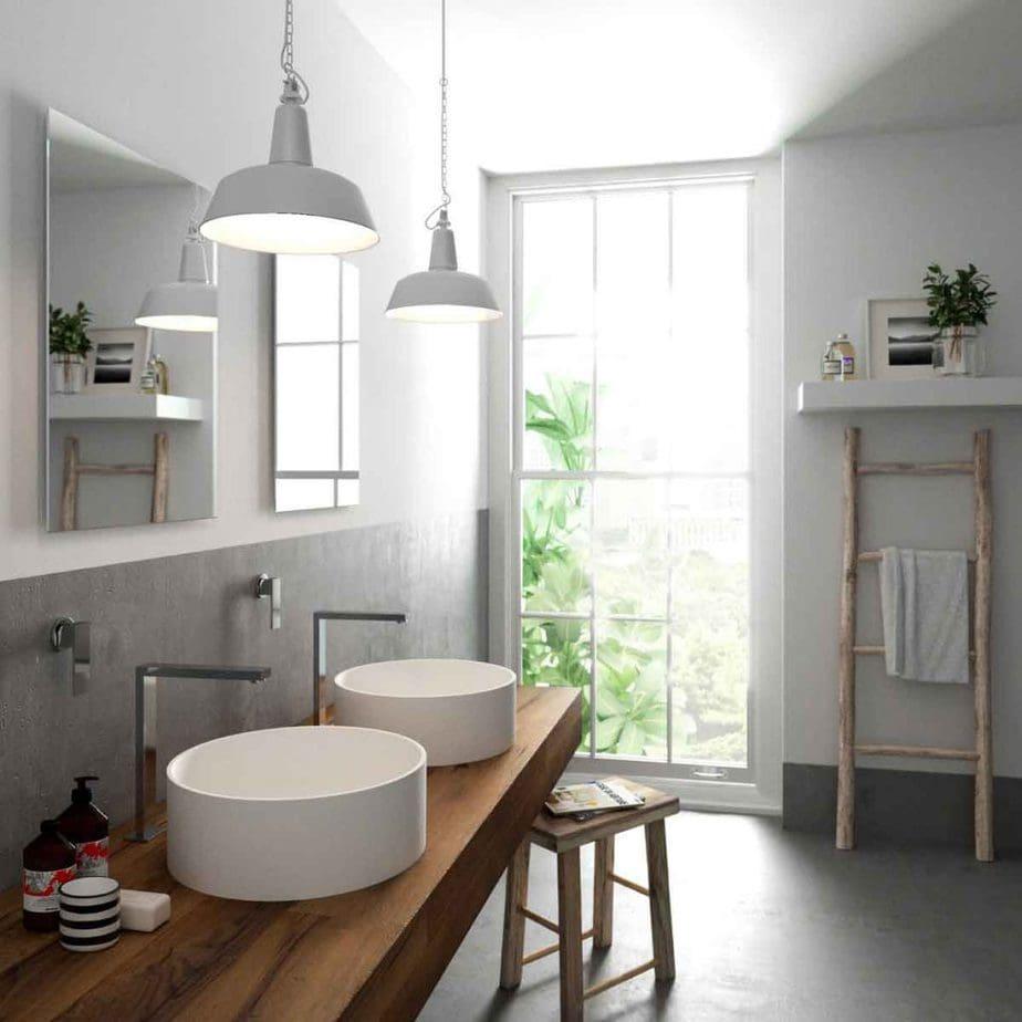 Ένα μοντέρνο μπάνιο