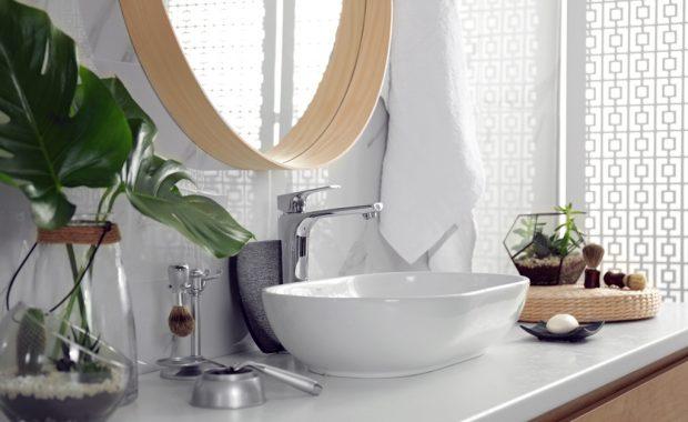 Νιπτήρας μπάνιου για πάγκο
